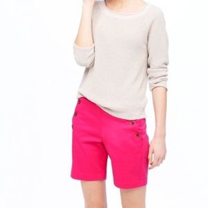 J Crew Pink Sailor Short